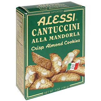 Alessi Cantuccini Crisp Almond Cookies,7 OZ