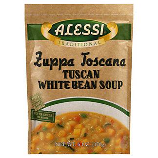 Alessi Tradtional Tuscan White Bean Soup, 6 oz