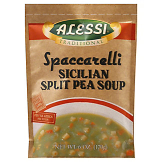 Alessi Traditional  Sicilian Split Pea Soup,6 OZ
