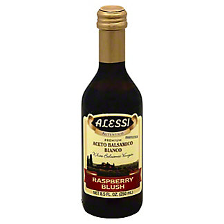 Alessi White Balsamic Raspberry Blush Vinegar, 8.5 oz