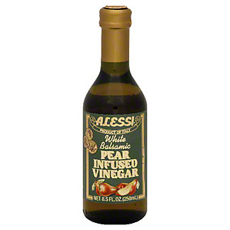 ALESSI White Balsamic Pear Infused Vinegar, 8.5 OZ