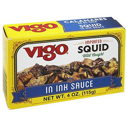 Vigo Squid in Ink Sauce,4.00 oz