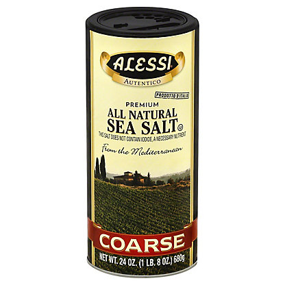 Alessi Coarse Sea Salt,24 OZ