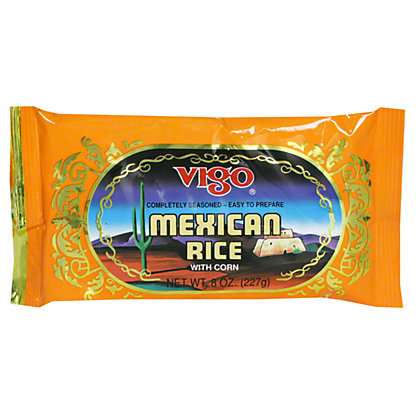 Vigo Mexican Rice With Corn,8.00 oz