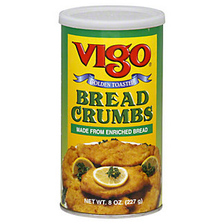 Vigo Golden Toasted Bread Crumbs,8.00 oz