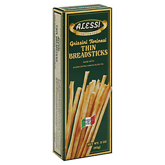 Alessi Thin Grissini Torinesi Breadsticks,3 OZ