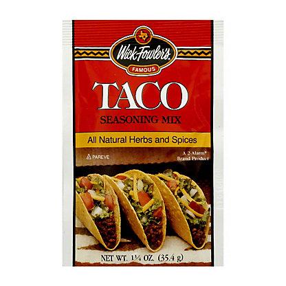 Wick Fowlers Taco Seasoning,1.25 oz