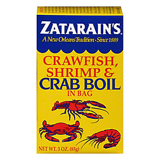 Zatarain's Crawfish, Shrimp & Crab Boil In Bag,3 OZ