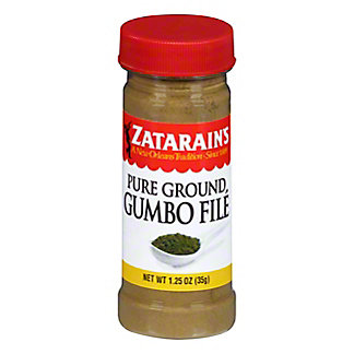 Zatarain's Pure Ground Gumbo File, 1.25 oz