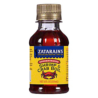 Zatarain's Concentrated Shrimp & Crab Boil,4.00 oz