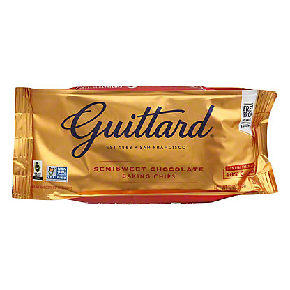 Guittard Real Semisweet Chocolate Chips, 12 oz