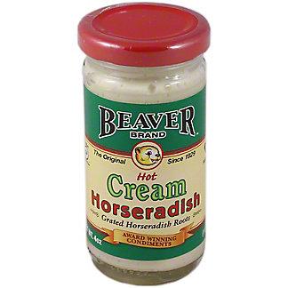 Beaver Brand Hot Cream Horseradish, 4 oz