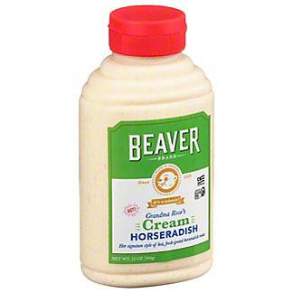 Beaver Hot Cream Horseradish,12 OZ