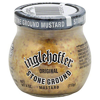 Inglehoffer Stone Ground Mustard,4 oz (113 g)