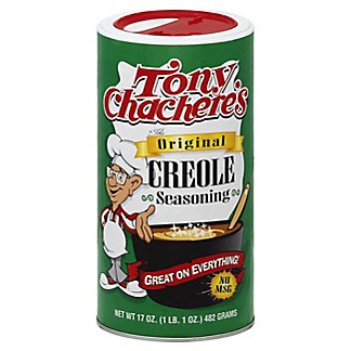 Tony Chachere's Original Creole Seasoning,17 OZ