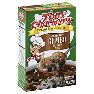 Tony Chachere's Creole Gumbo Dinner Mix, 8 oz