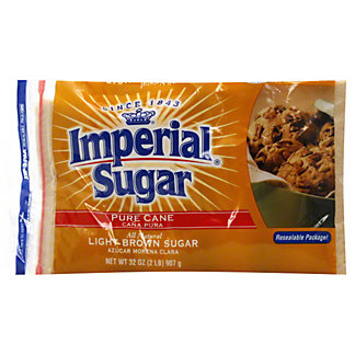 Imperial Sugar Pure Cane Light Brown Sugar,2 LB