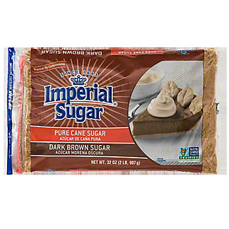Imperial Sugar Pure Cane Dark Brown Sugar,2 LB