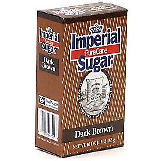 Imperial Sugar Pure Cane Dark Brown Sugar,1 LB