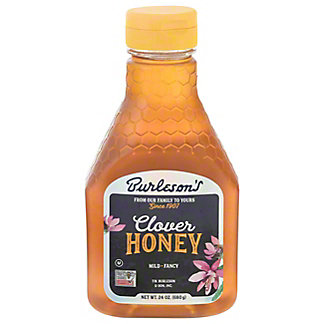 Burleson's Pure Clover Honey, 24 oz