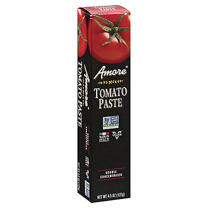 Amore Double Concentrated Italian Tomato Paste, 4.5 oz