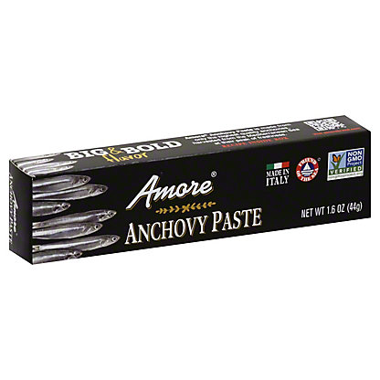 Amore Italian Anchovy Paste Made With Olive Oil,1.58 OZ