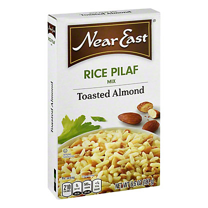 Near East Toasted Almond Rice Pilaf Mix,6.6 oz