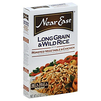 Near East Roasted Vegetable And Chicken  Long Grain And Wild Rice Mix,6.3 oz