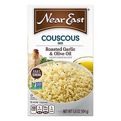 Near East Roasted Garlic and Olive Oil Couscous Mix, 5.8 oz