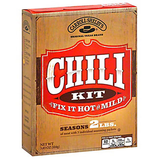 Carroll Shelby's Chili Mix,4 OZ