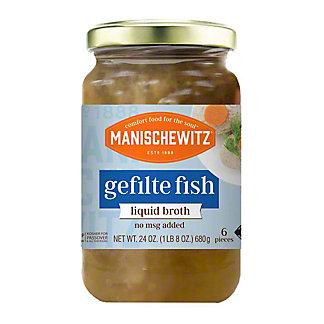 Manischewitz Gefilte Fish in Liquid Broth, 24 oz