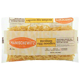 Manischewitz Medium Egg Noodles, 12 oz