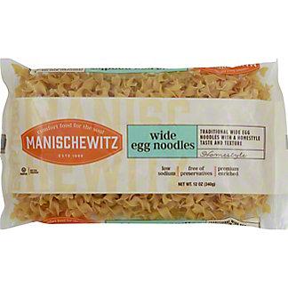 Manischewitz Wide Egg Noodles,12 OZ