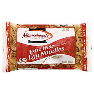 Manischewitz Extra Wide Egg Noodles, 12 oz