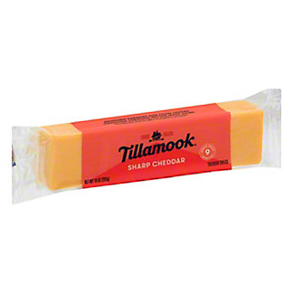 Tillamook Sharp Cheddar Cheese, 10 OZ