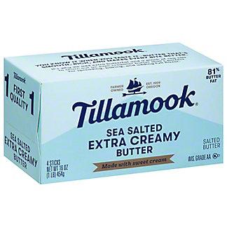 Tillamook Sweet Cream Butter,4 qt (1 lb) 454 g