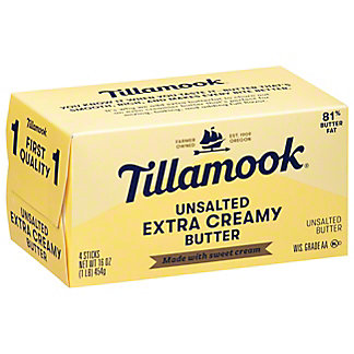 Tillamook Sweet Cream Unsalted Butter,16 OZ