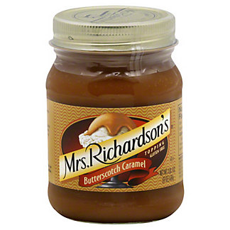 Mrs. Richardson's Butterscotch Caramel Topping,17 oz