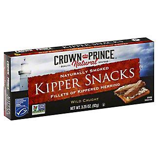 Crown Prince Natural Low Salt Kipper Snacks,3.25 OZ