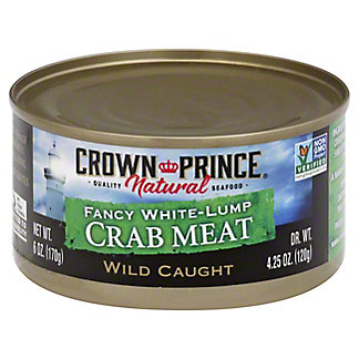 Crown Prince Natural Crab Meat,6 OZ