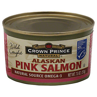 Crown Prince Alaskan Pink Salmon,7.5 oz (213 g)