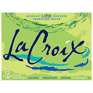LaCroix Lime Sparkling Water 12 PK, 12 oz
