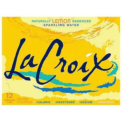 LaCroix Lemon Sparkling Water 12 PK,12 OZ