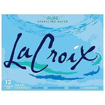 LaCroix Pure Sparkling Water 12 PK, 12 oz