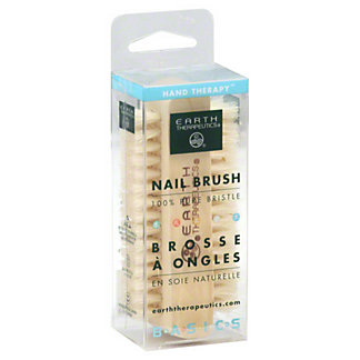 Earth Therapeutics Basics Genuine Bristle Nail Brush,1 EACH