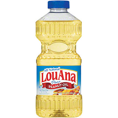 Lou Ana Pure Peanut Oil,24 OZ
