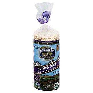 Lundberg Organic Brown Rice Salt-Free Rice Cakes,8.5 oz