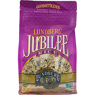 Lundberg Jubilee Gourmet Blend of Whole Grain Brown Rice, 16 OZ