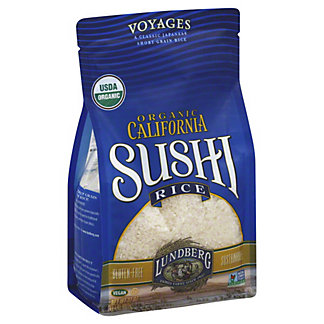 Lundberg Organic Short Grain California Sushi Rice, 2 LB