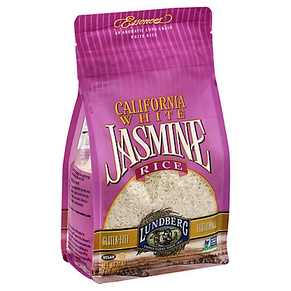 Lundberg California White Jasmine Rice,2 LB